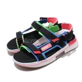 Puma 涼拖鞋 Future Rider Sandal Game On 黑 彩色 男鞋 女鞋 涼鞋 魔鬼氈【PUMP306】 37196401