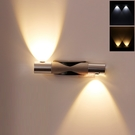 壁燈 led雙頭現代簡約創意臥室床頭過道樓梯溫馨書房客廳墻壁掛燈 - 古梵希