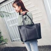 托特包韓版女包側背包韓版時尚休閒大容量手提包托特包 新年特惠