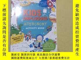 二手書博民逛書店海洋探索英文Kids罕見Unplugged Ocean Quest (Activity Book)Y40872