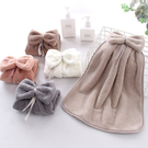 Qmishop 可愛掛式擦手巾超強吸水廚房擦手帕33*33CM【J1749】