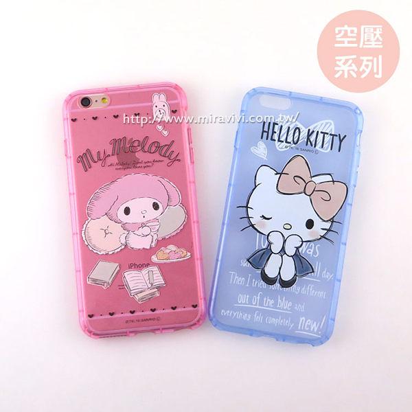 【Sanrio 】iPhone 6/6s 防摔氣墊空壓保護套-素描系列