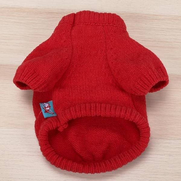 全館83折 寵物秋冬裝衣服貓狗兩腳毛衣套頭款蝴蝶結可愛毛衣狗冬天衣服
