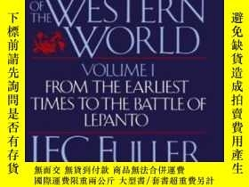 二手書博民逛書店A罕見Military History Of The Western WorldY364153 Fuller,