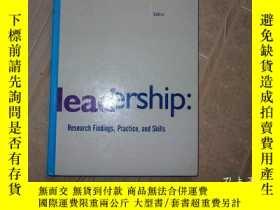 二手書博民逛書店Leadership罕見Research Findings,Pr