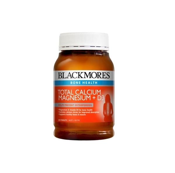 Blackmore 澳佳寶活性鈣鎂+ 維生素D3 200顆 元氣健康館