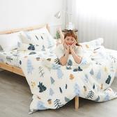 #U117#舒柔超細纖維5x6.2尺標準雙人床包被套四件組-台灣製