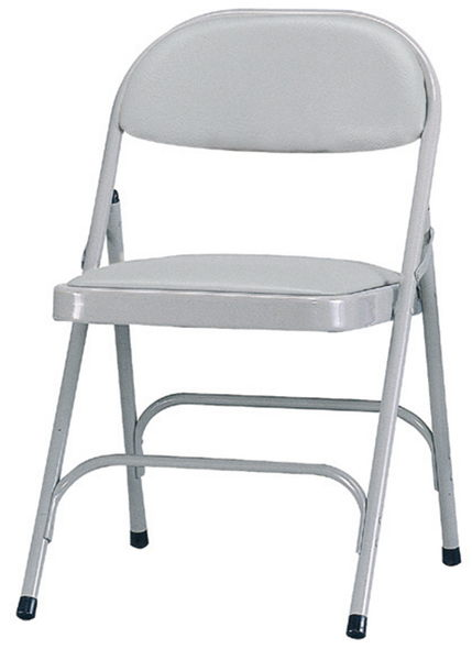 【 IS空間美學】ㄇ腳皮合椅(兩色可選)