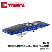 日貨 TOMICA No.26 TOKAI UNIVERSITY SOLAR CAR TOKAI CHALLENGER 東海大學太陽能車 真車系列 汽車模型 多美小汽車