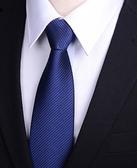 懶人領帶男 拉鏈式 正裝商務職業一拉得黑色男士領帶拉鏈襯衫西裝 【快速出貨】