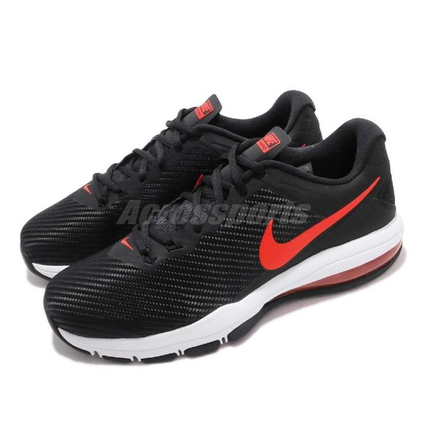 【海外限定】Nike 訓練鞋 Air Max Full Ride TR 1.5 黑 紅 白 氣墊 男鞋 運動鞋 【PUMP306】 869633-006