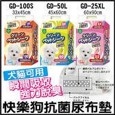 *KING WANG*【8包免運組】快樂狗抗菌尿布-強力瞬間吸收 三種尺寸