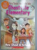【書寶二手書T1/原文小說_MQL】New Ghoul in School_Jones, Marcia Thornton/ Dadey, Debbie/ Tugeau, Jeremy (ILT)