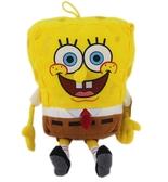 【卡漫城】 海綿寶寶 絨毛 玩偶 24cm(不含手腳) ㊣版 SpongeBob 娃娃布偶 抱枕 靠墊 靠枕 卡通