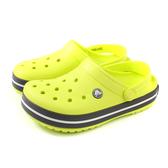 Crocs 涼鞋 休閒鞋 防水 雨天 螢光綠 男女鞋 11016-725 no002