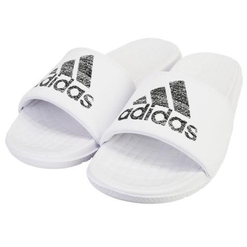 Adidas VOLOOMIX 拖鞋 運動 休閒 白 黑 防潑水 軟底 【運動世界】 S80406