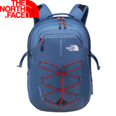 【The North Face 15吋電腦背包 月光藍/紅  】 NF00CHK4/電腦包/後背包/通勤包★滿額送
