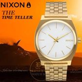 NIXON 實體店TIME TELLER潮流腕錶A045-508公司貨/極限運動/潮流/禮物/情人節