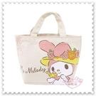 ♥小花花日本精品♥《Meldoy》美樂蒂 40週年 紀念 帆布迷你提袋 手提袋 手提包 收納包 (預購)