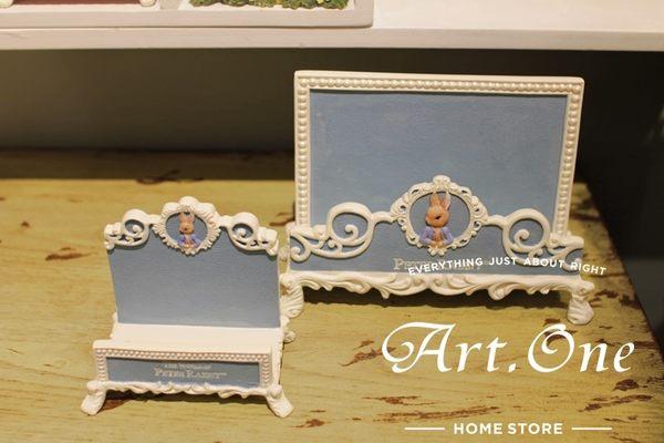 ART ONE 居家設計館 AM02034彼得兔北歐風古典名片座