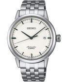 SEIKO 精工 Presage 時尚極簡機械手錶-銀/39mm 6R15-02Y0S(SARX021J)