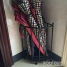 歐式創意落地式家用雨傘架酒店簡約鐵藝雨傘桶門廳收納架放傘架子  ATF  夏季新品