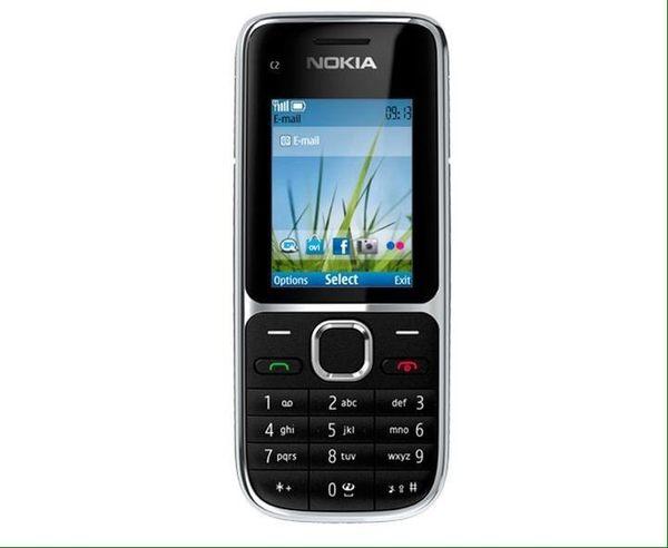 Nokia C2-01 送:電池*1+轉卡 4G卡可用 科技廠、阿兵哥可代拆鏡頭 有ㄅㄆㄇ輸入法按鍵