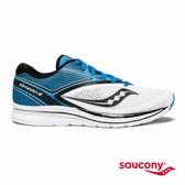 SAUCONY KINVARA 9 專業訓練鞋款-白x天空藍