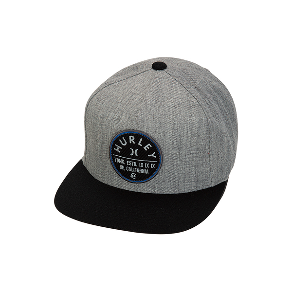 Hurley  M UNION HAT DK GREY HEATHER  棒球帽-(男/女)