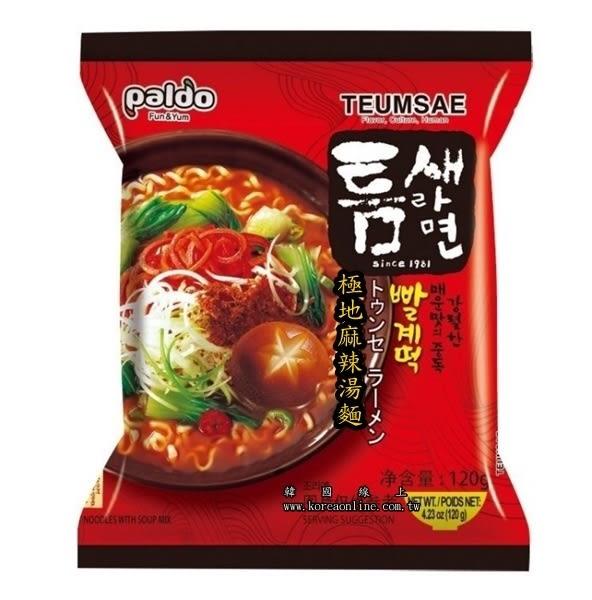 韓國八道極地麻辣湯麵(單包) 全球十大辣麵TOP1