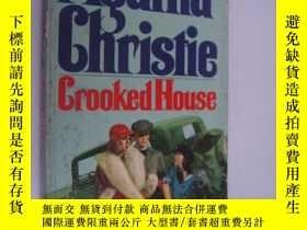 二手書博民逛書店Crooked罕見Houses 阿加莎·克里斯蒂 (Agatha