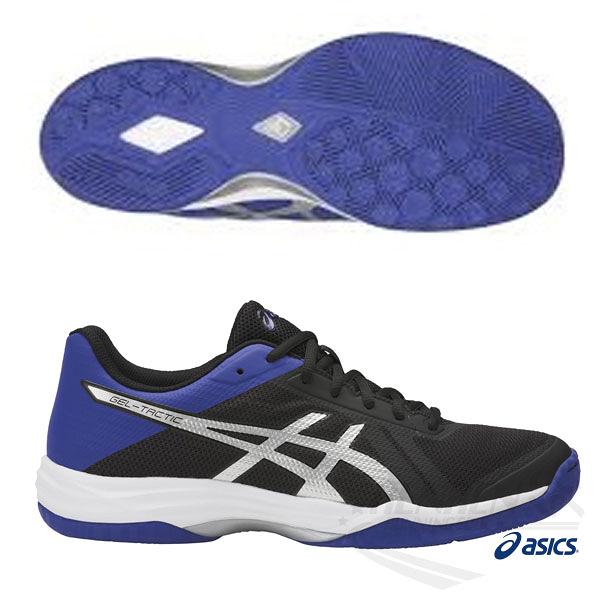 ASICS亞瑟士 男排羽球鞋(黑藍) GEL-TACTIC 緩衝.強抓地力排羽鞋款 B702N-9045【 胖媛的店 】