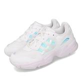 【六折特賣】adidas 休閒鞋 Yung-96 J 白 銀 大童鞋 女鞋 復古慢跑鞋 老爹鞋 運動鞋 【ACS】 EE6737