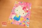 Hello Kitty 凱蒂貓 A4雙用文件夾 L夾 U夾 寶石 粉 966337