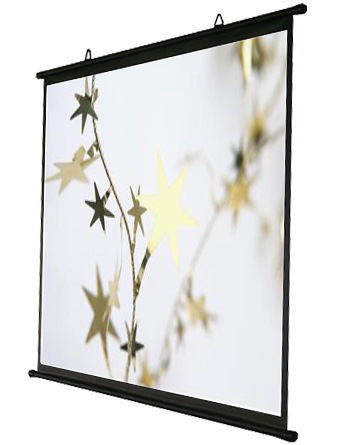 [卡瑪斯投影機銀幕]80吋4:3 壁掛簡易型投影布幕 席白可攜式投影機銀幕 含稅含運