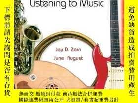 二手書博民逛書店Listening罕見To Music (5th Edition)Y255562 Jay D. Zorn Pr