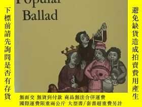 二手書博民逛書店古代民謠罕見The Popular Ballad by Fran
