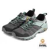 MERRELL 新竹皇家 MOAB FST 2 GTX 灰/藍色 防水 水陸兩棲 運動鞋 女款 NO.I9113
