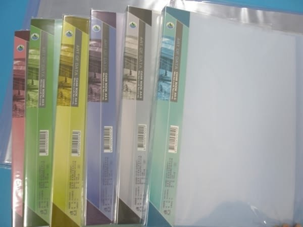雙德 A4資料簿 PP資料本 SD-20G 果凍色板(20入)40頁/一箱24本入{定65}SUANDER  無內紙  MIT台灣製造