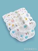 嬰兒口水巾純棉紗布圍嘴新生寶寶防水吐奶吃飯圍兜360度旋轉兒童凱斯盾數位3C