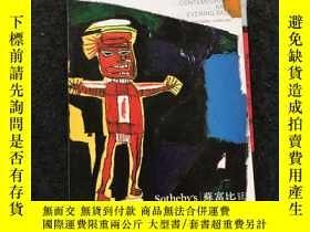 二手書博民逛書店Sotheby s:MODERN罕見AND CONTEMPORARY ART-EVENING SALE(HONG