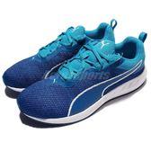 Puma 慢跑鞋 Flare 2 藍 白 運動鞋 基本款 男鞋 運動鞋【PUMP306】 18951701