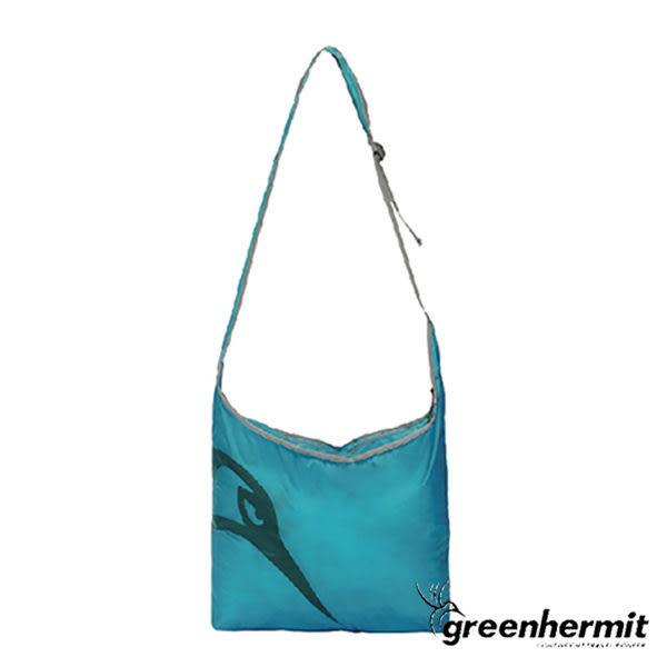 GREEN HERMIT 蜂鳥 ULTRALIGHT輕量防潑水側背包/瓦藍/CT-1111