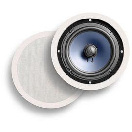 經典數位~美國Polk Audio RC80i 8吋嵌壁式喇叭(一對) 白色