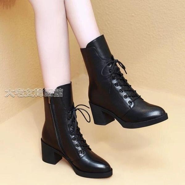 舞蹈鞋女士冬季舞蹈靴子真皮廣場舞鞋舞靴軟底水兵舞靴舞蹈鞋女爵士跳舞女鞋 快速出貨