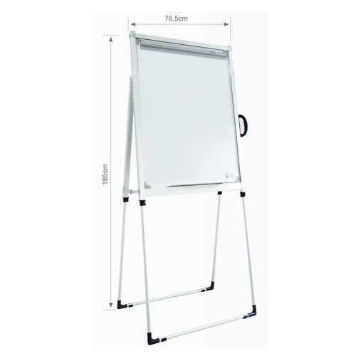 [奇奇文具]【金益山 CYS 白板】FC0002 伸縮簡報架白板(專利)
