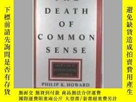 二手書博民逛書店常識之死:法律如何受到傷害美國罕見Death of Common