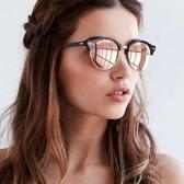 RayBan 水銀太陽眼鏡 RB4246F 1197Z2 (黑銀-粉水銀) 流行都會眉框亞洲款 # 金橘眼鏡