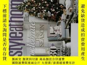 二手書博民逛書店CANADA S罕見STYLE AT HOME 2013 11 加拿大室內設計家居裝修裝飾雜誌Y14610