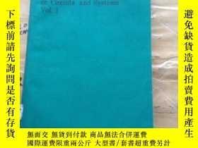 二手書博民逛書店1991罕見34th midwest symposium on circuits and systems vol.